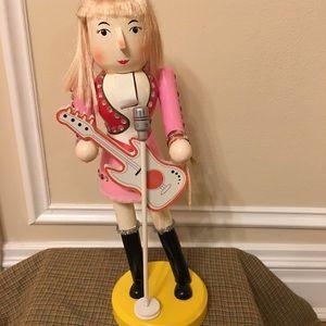 Rocker Girl Nutcracker